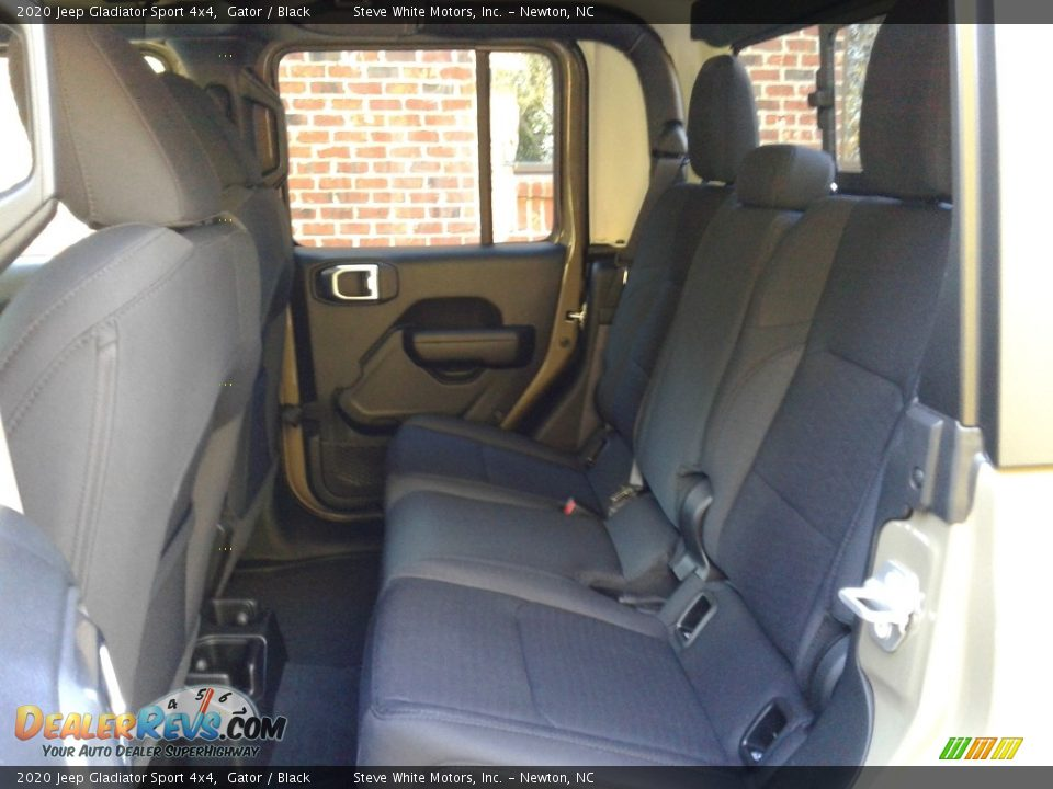 Rear Seat of 2020 Jeep Gladiator Sport 4x4 Photo #11