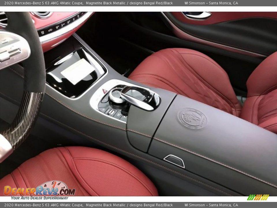 2020 Mercedes-Benz S 63 AMG 4Matic Coupe Magnetite Black Metallic / designo Bengal Red/Black Photo #23