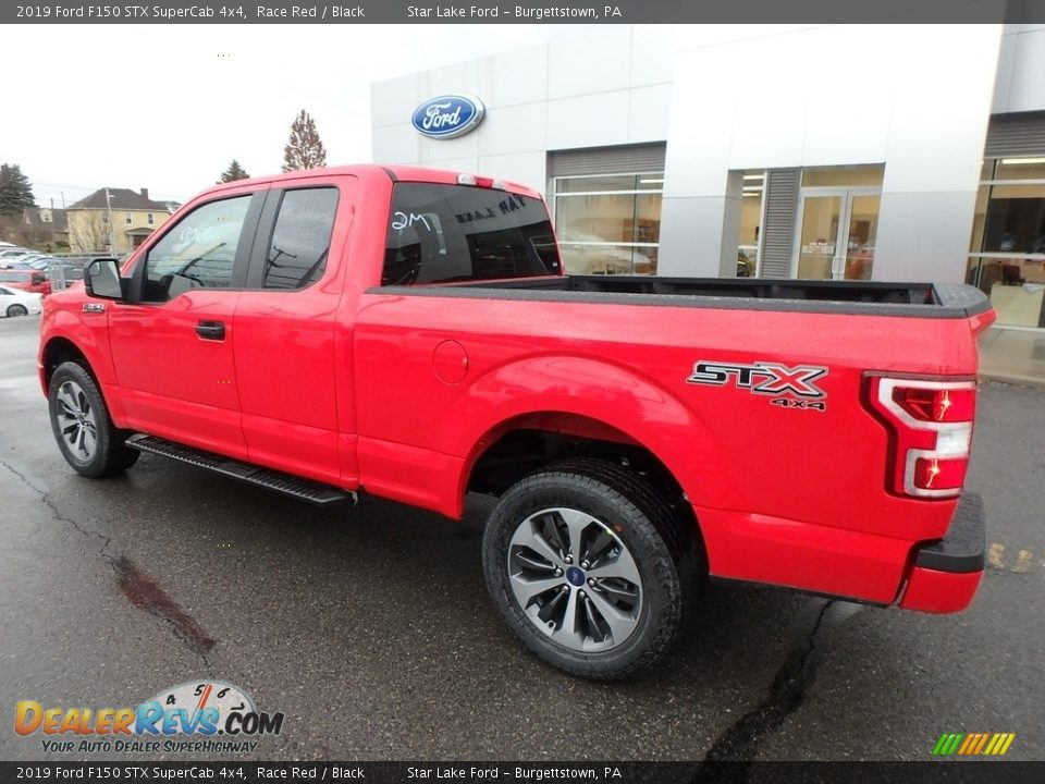 2019 Ford F150 STX SuperCab 4x4 Race Red / Black Photo #7