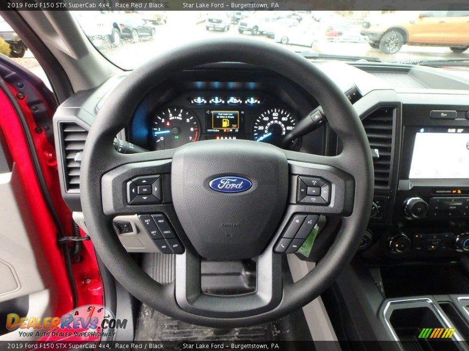 2019 Ford F150 STX SuperCab 4x4 Race Red / Black Photo #16
