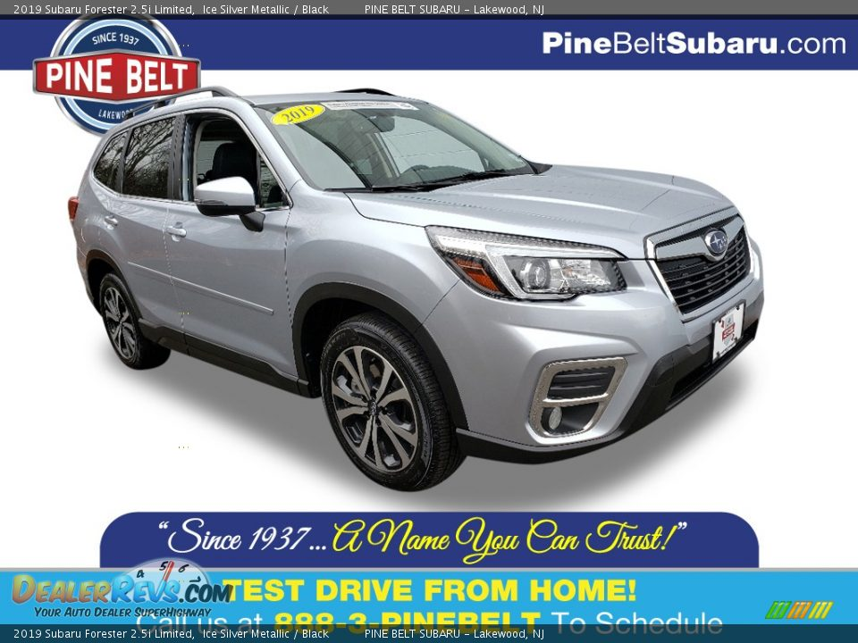 2019 Subaru Forester 2.5i Limited Ice Silver Metallic / Black Photo #1