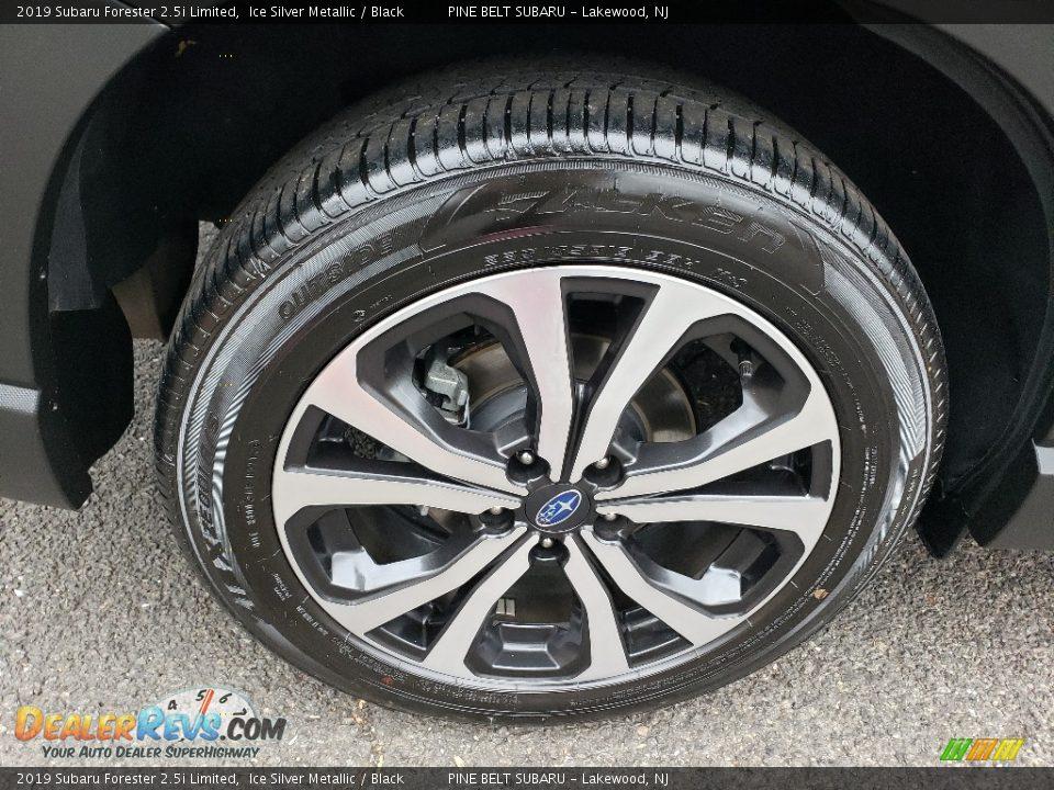 2019 Subaru Forester 2.5i Limited Ice Silver Metallic / Black Photo #17