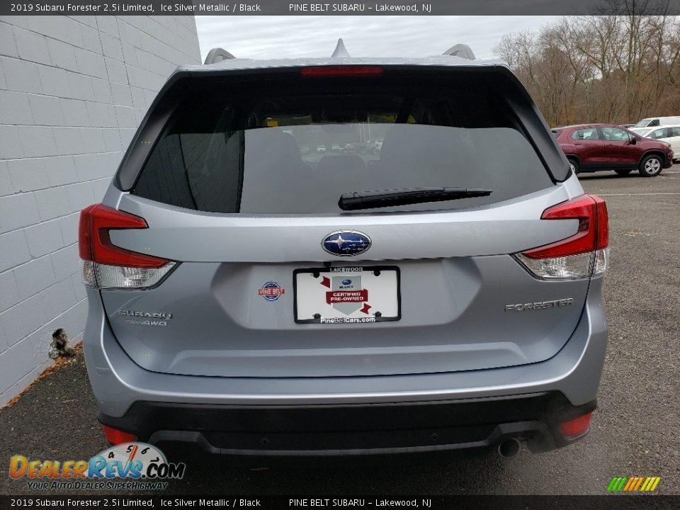 2019 Subaru Forester 2.5i Limited Ice Silver Metallic / Black Photo #19