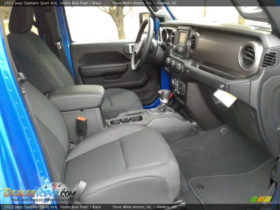 Black Interior - 2020 Jeep Gladiator Sport 4x4 Photo #14