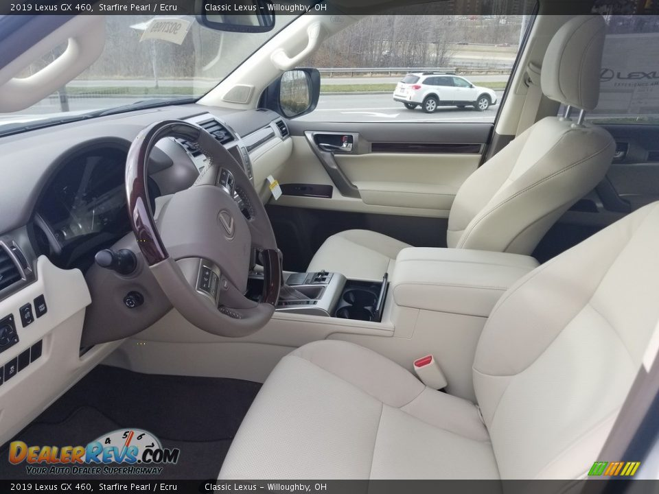 2019 Lexus GX 460 Starfire Pearl / Ecru Photo #2