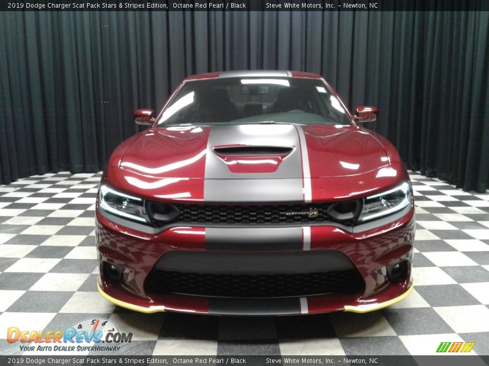 2019 Dodge Charger Scat Pack Stars & Stripes Edition Octane Red Pearl / Black Photo #3