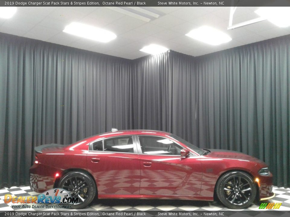 2019 Dodge Charger Scat Pack Stars & Stripes Edition Octane Red Pearl / Black Photo #5