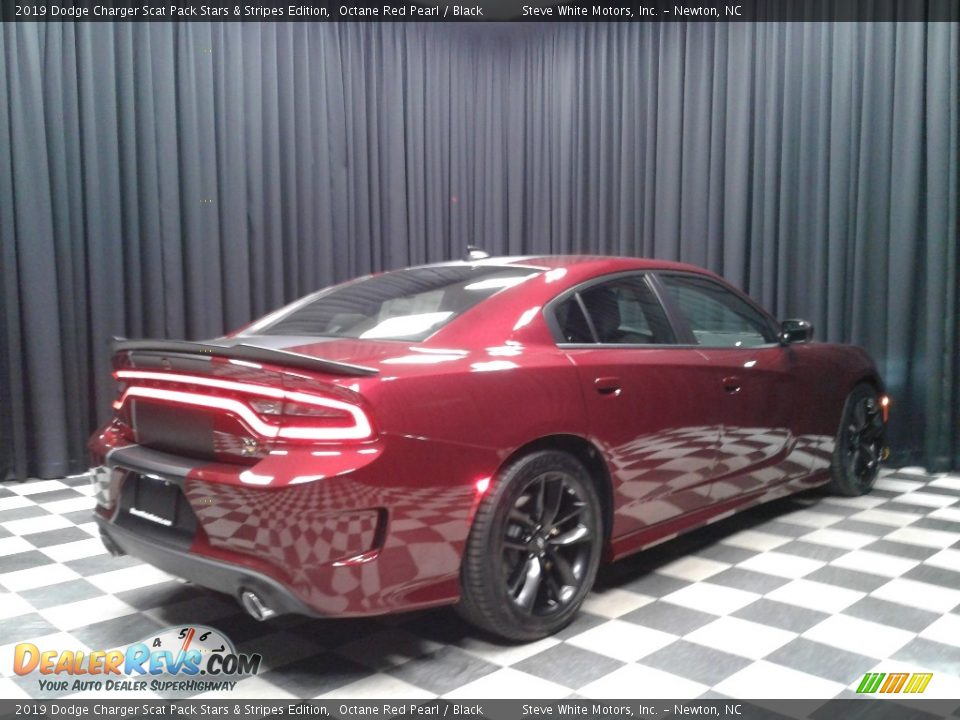2019 Dodge Charger Scat Pack Stars & Stripes Edition Octane Red Pearl / Black Photo #6
