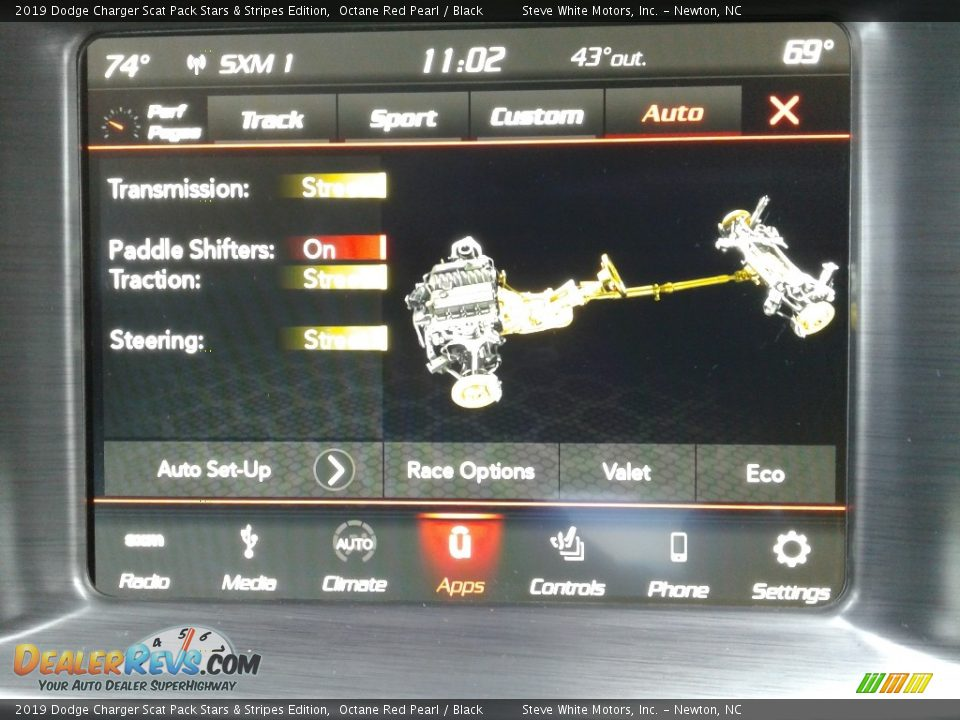 Controls of 2019 Dodge Charger Scat Pack Stars & Stripes Edition Photo #27
