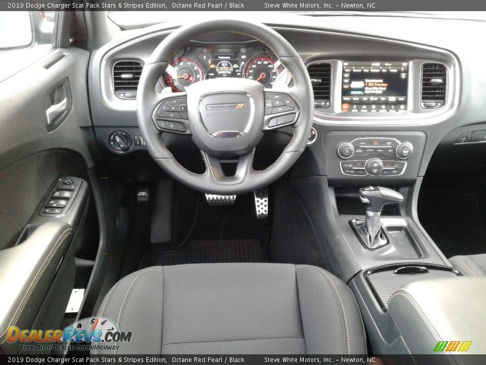Dashboard of 2019 Dodge Charger Scat Pack Stars & Stripes Edition Photo #31