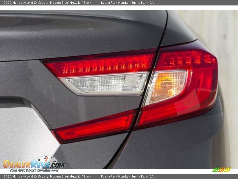 2020 Honda Accord LX Sedan Modern Steel Metallic / Black Photo #8
