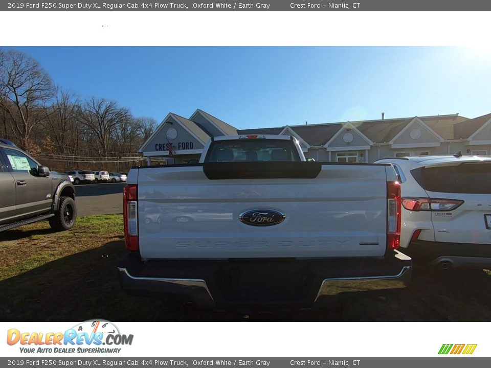 2019 Ford F250 Super Duty XL Regular Cab 4x4 Plow Truck Oxford White / Earth Gray Photo #6