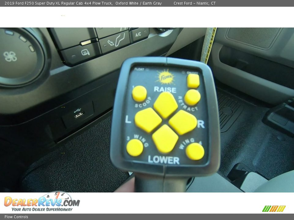 Plow Controls - 2019 Ford F250 Super Duty