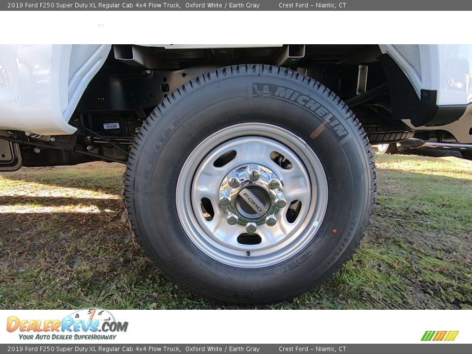 2019 Ford F250 Super Duty XL Regular Cab 4x4 Plow Truck Wheel Photo #17