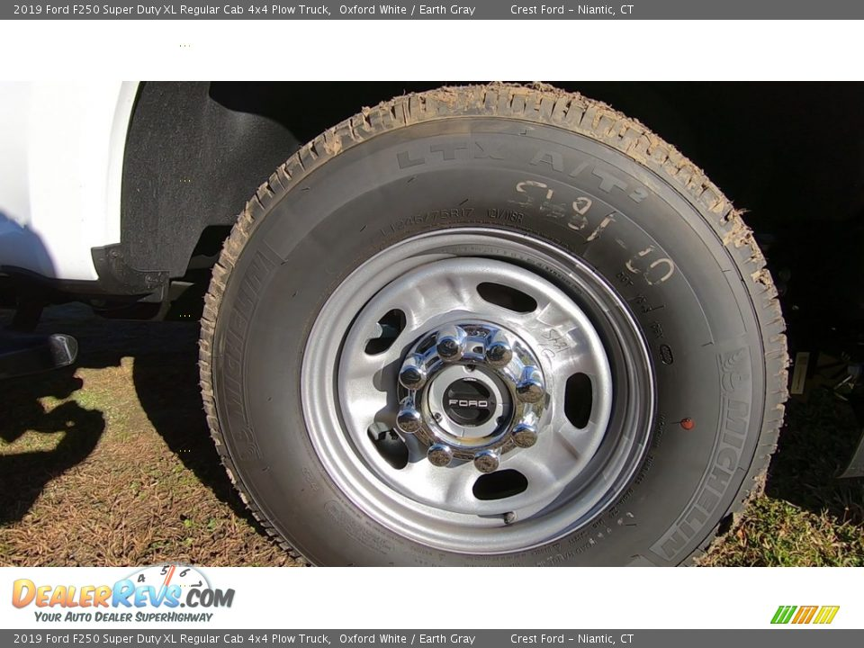 2019 Ford F250 Super Duty XL Regular Cab 4x4 Plow Truck Wheel Photo #23