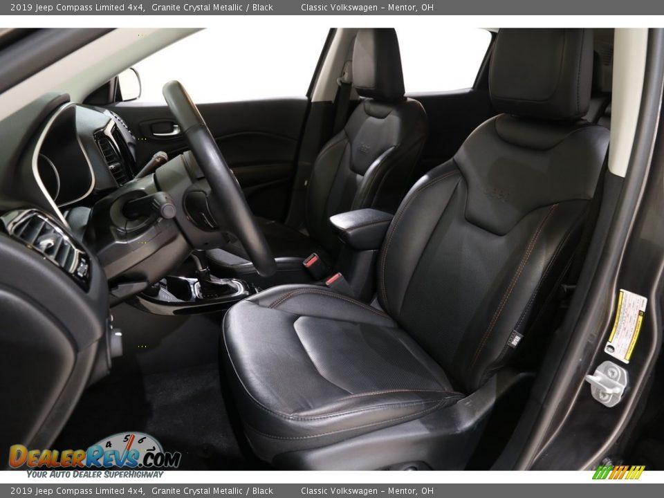 2019 Jeep Compass Limited 4x4 Granite Crystal Metallic / Black Photo #5