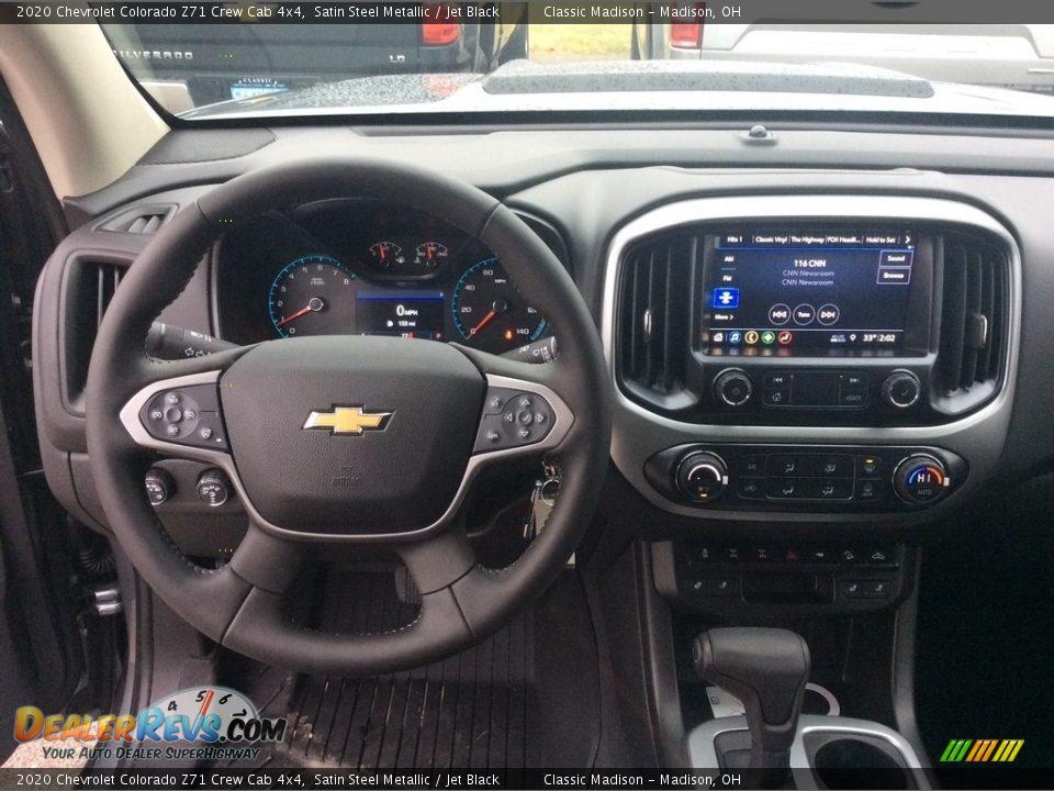 2020 Chevrolet Colorado Z71 Crew Cab 4x4 Satin Steel Metallic / Jet Black Photo #3