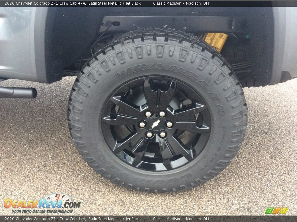 2020 Chevrolet Colorado Z71 Crew Cab 4x4 Wheel Photo #10
