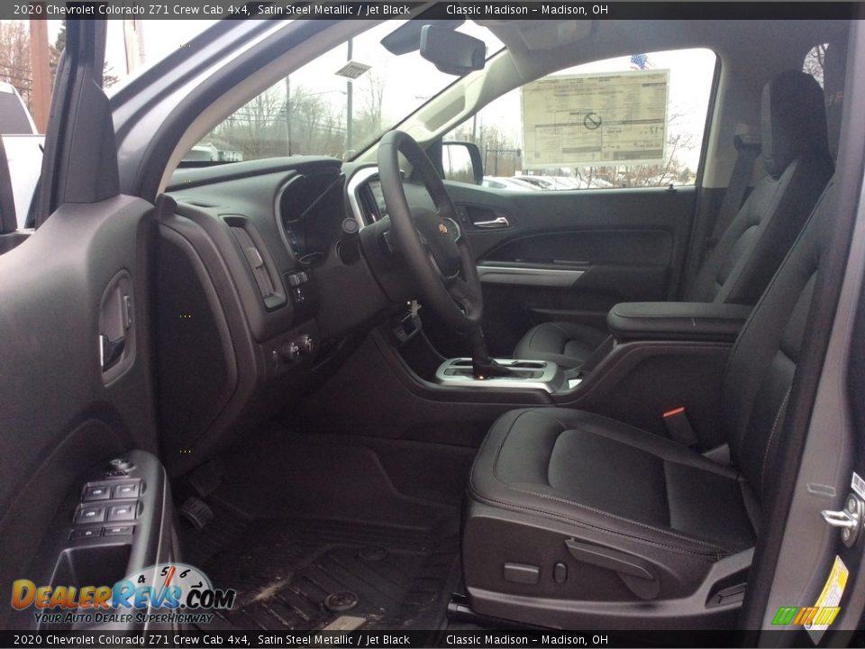 2020 Chevrolet Colorado Z71 Crew Cab 4x4 Satin Steel Metallic / Jet Black Photo #12