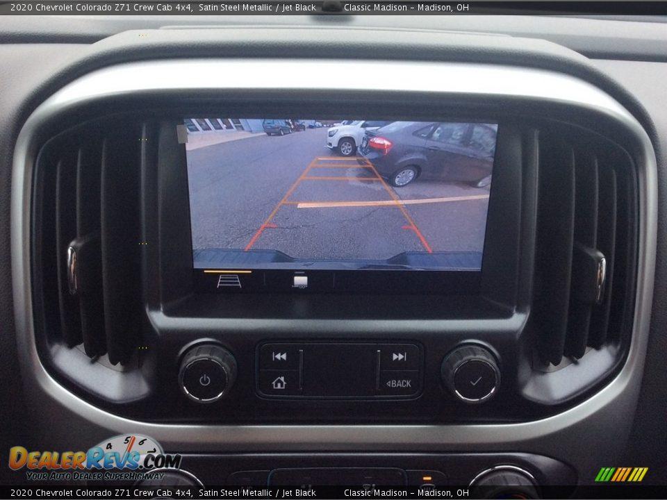 2020 Chevrolet Colorado Z71 Crew Cab 4x4 Satin Steel Metallic / Jet Black Photo #21