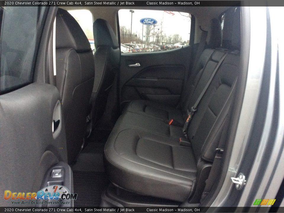 2020 Chevrolet Colorado Z71 Crew Cab 4x4 Satin Steel Metallic / Jet Black Photo #22