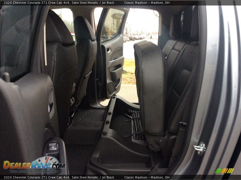 2020 Chevrolet Colorado Z71 Crew Cab 4x4 Satin Steel Metallic / Jet Black Photo #23