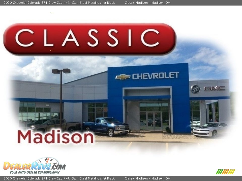 Dealer Info of 2020 Chevrolet Colorado Z71 Crew Cab 4x4 Photo #24