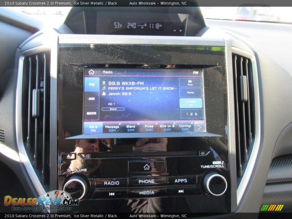 2019 Subaru Crosstrek 2.0i Premium Ice Silver Metallic / Black Photo #16