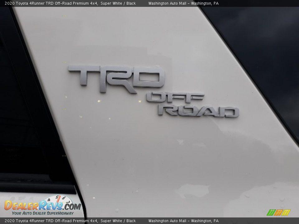 2020 Toyota 4Runner TRD Off-Road Premium 4x4 Super White / Black Photo #8