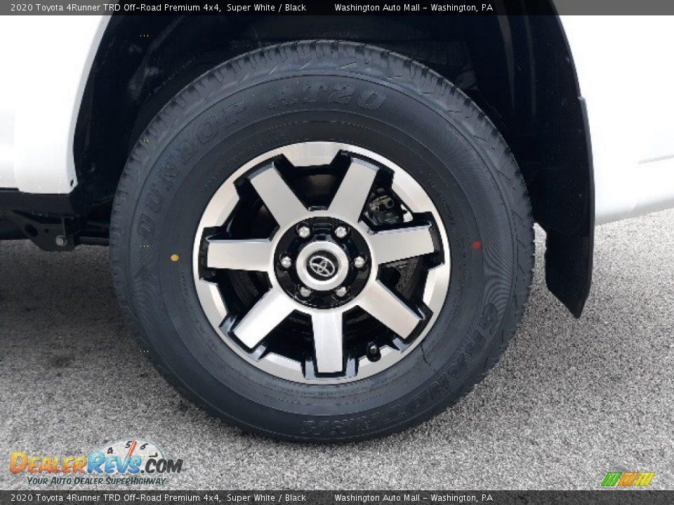 2020 Toyota 4Runner TRD Off-Road Premium 4x4 Super White / Black Photo #9