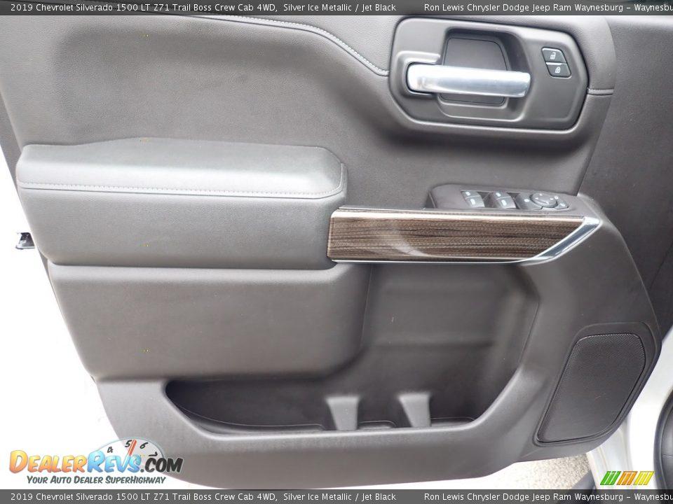 Door Panel of 2019 Chevrolet Silverado 1500 LT Z71 Trail Boss Crew Cab 4WD Photo #14