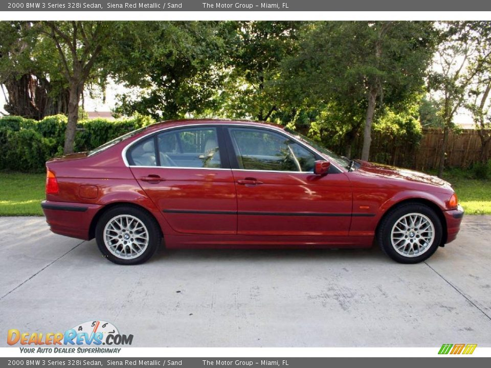 2000 bmw 3 series 328i sedan siena red metallic sand photo 15. Black Bedroom Furniture Sets. Home Design Ideas