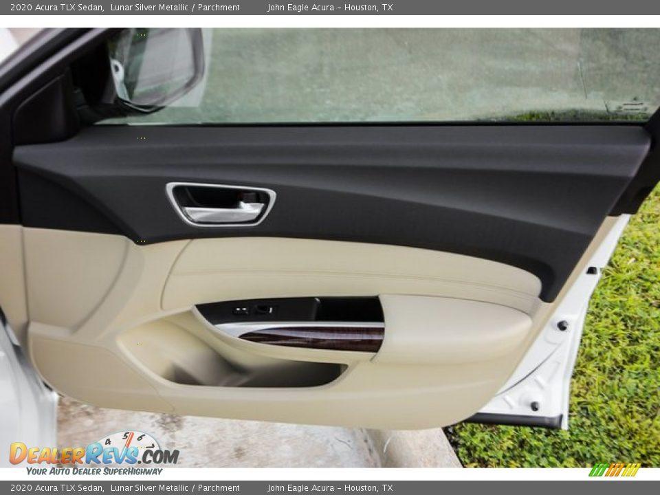 2020 Acura TLX Sedan Lunar Silver Metallic / Parchment Photo #23