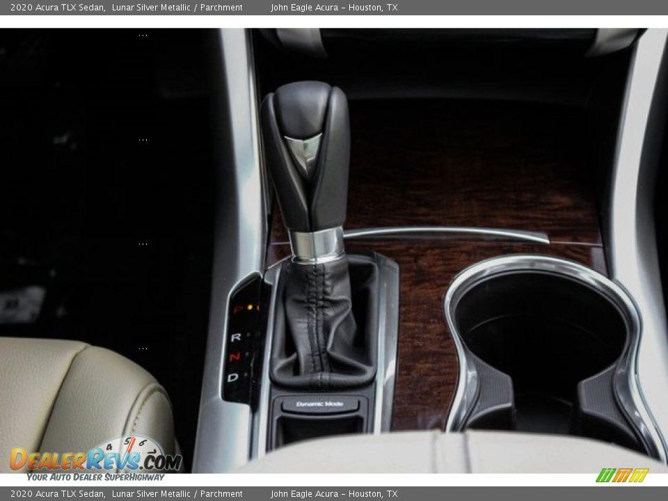 2020 Acura TLX Sedan Lunar Silver Metallic / Parchment Photo #31
