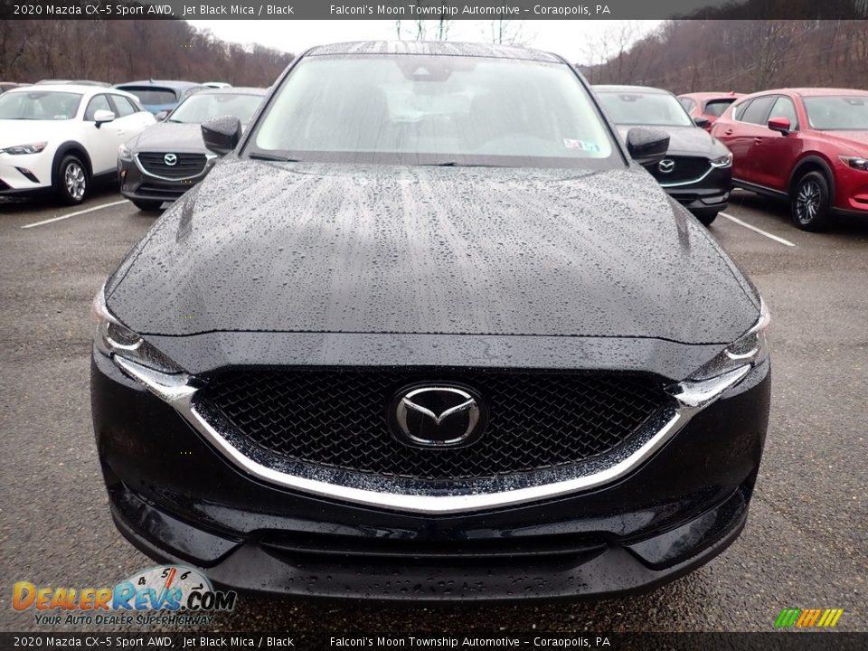 2020 Mazda CX-5 Sport AWD Jet Black Mica / Black Photo #4