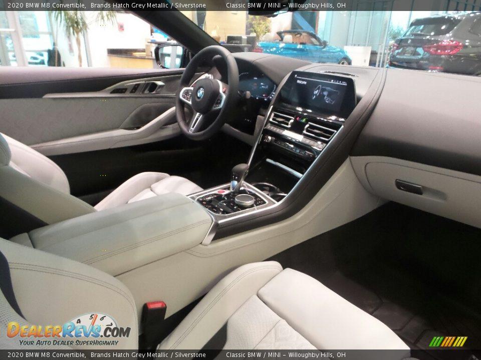 Silverstone Interior - 2020 BMW M8 Convertible Photo #3