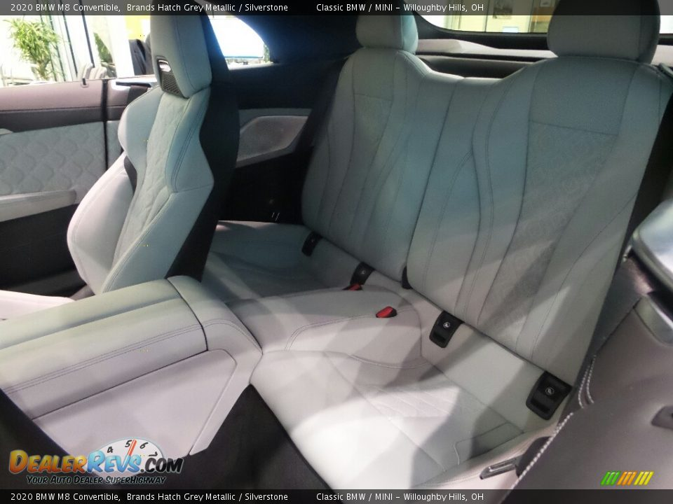Rear Seat of 2020 BMW M8 Convertible Photo #4