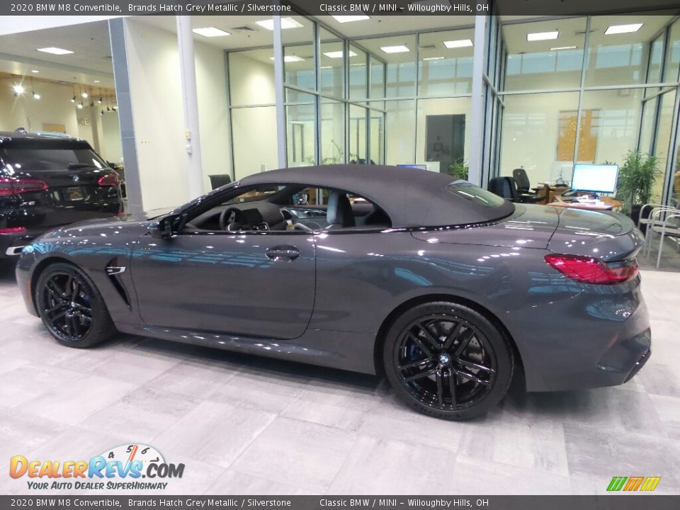 Brands Hatch Grey Metallic 2020 BMW M8 Convertible Photo #5