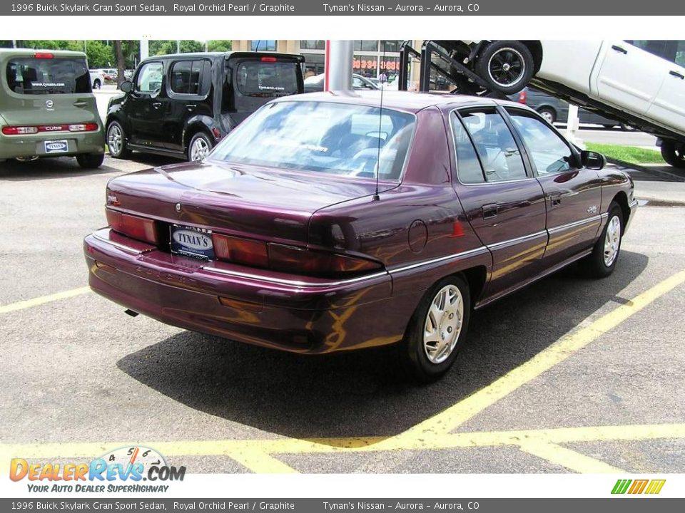 1996 Buick Skylark Gran Sport Sedan Royal Orchid Pearl / Graphite ...