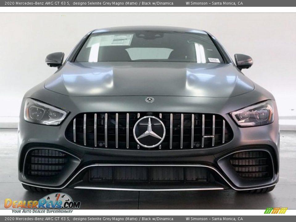 2020 Mercedes-Benz AMG GT 63 S designo Selenite Grey Magno (Matte) / Black w/Dinamica Photo #2