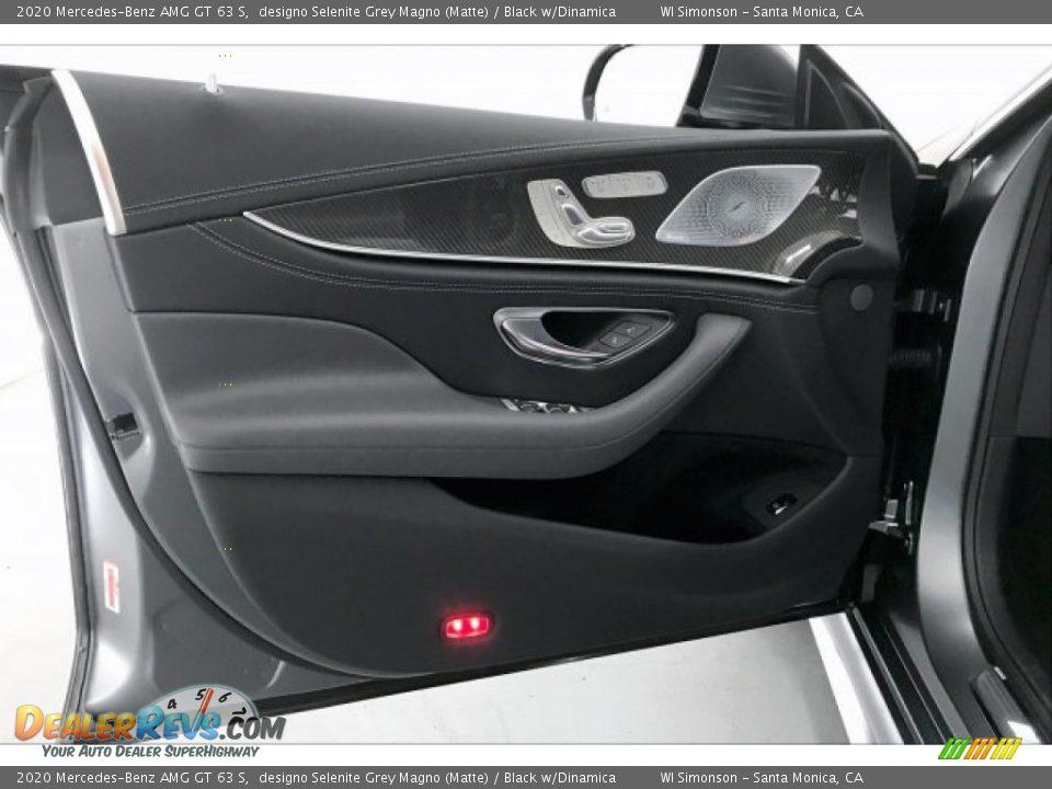 2020 Mercedes-Benz AMG GT 63 S designo Selenite Grey Magno (Matte) / Black w/Dinamica Photo #25