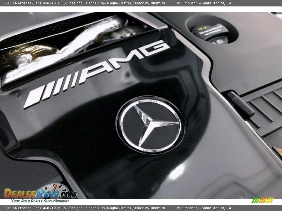 2020 Mercedes-Benz AMG GT 63 S designo Selenite Grey Magno (Matte) / Black w/Dinamica Photo #31