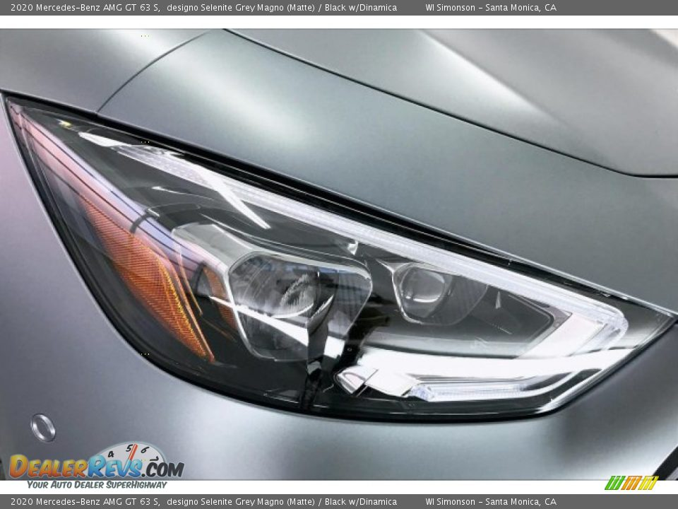 2020 Mercedes-Benz AMG GT 63 S designo Selenite Grey Magno (Matte) / Black w/Dinamica Photo #32