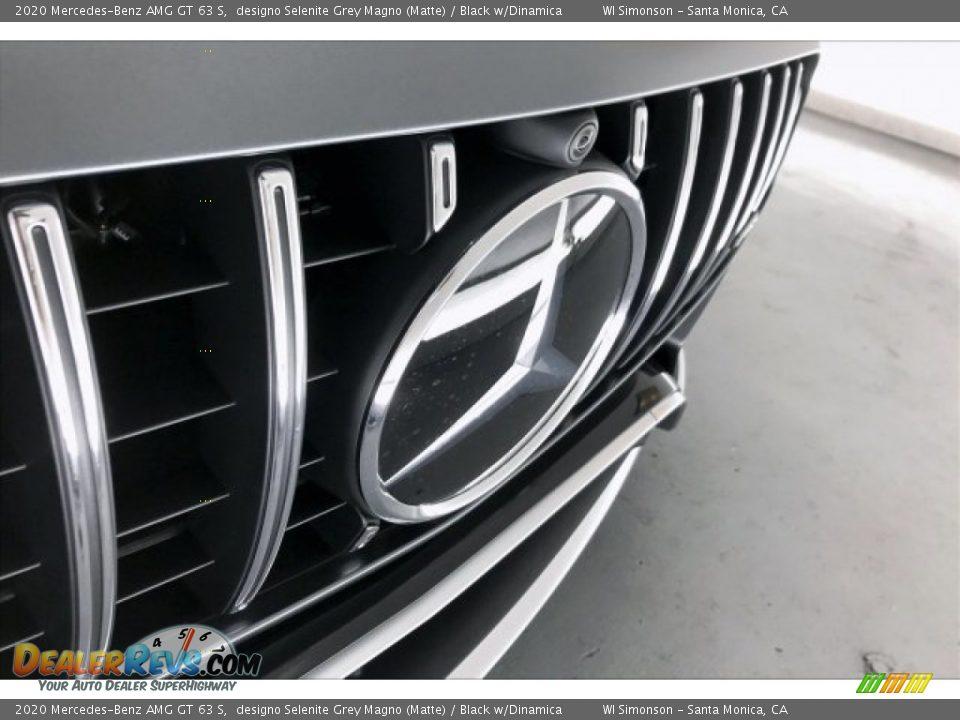 2020 Mercedes-Benz AMG GT 63 S designo Selenite Grey Magno (Matte) / Black w/Dinamica Photo #33