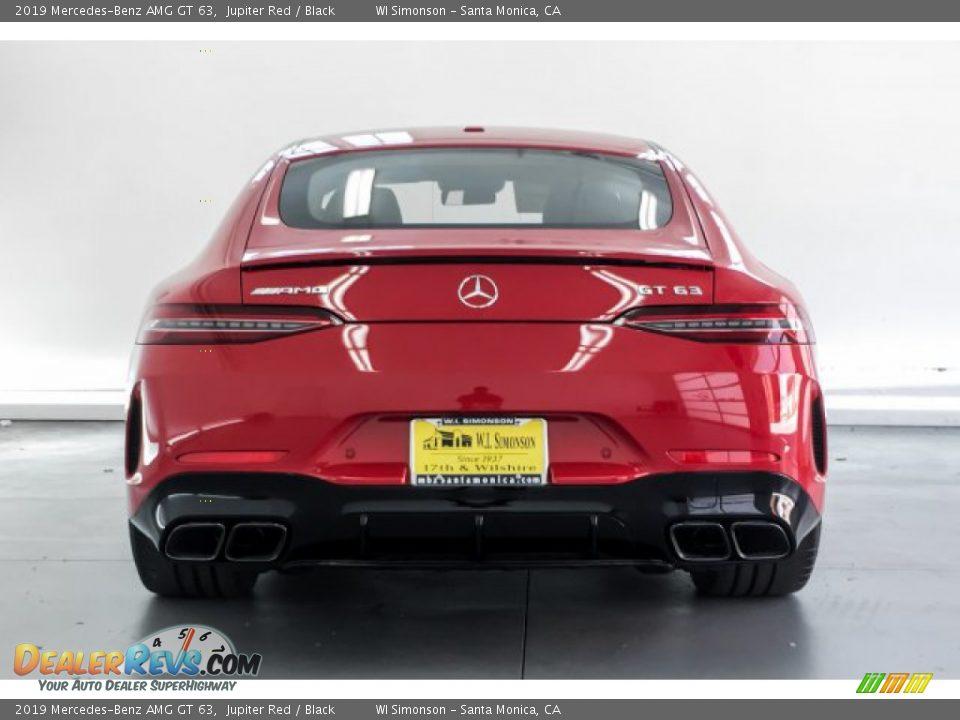 2019 Mercedes-Benz AMG GT 63 Jupiter Red / Black Photo #3