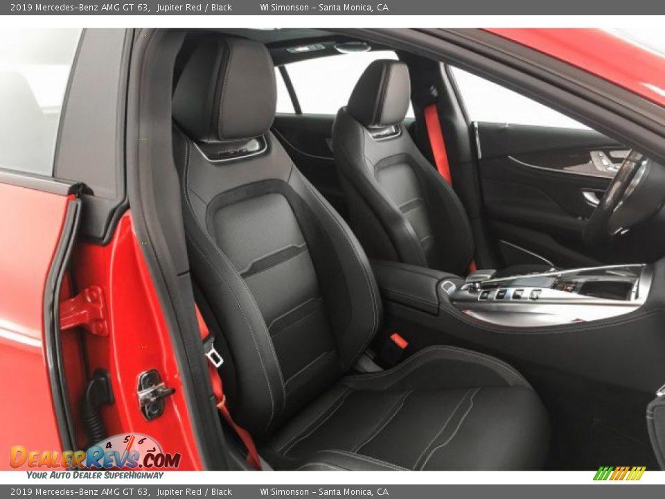 2019 Mercedes-Benz AMG GT 63 Jupiter Red / Black Photo #5