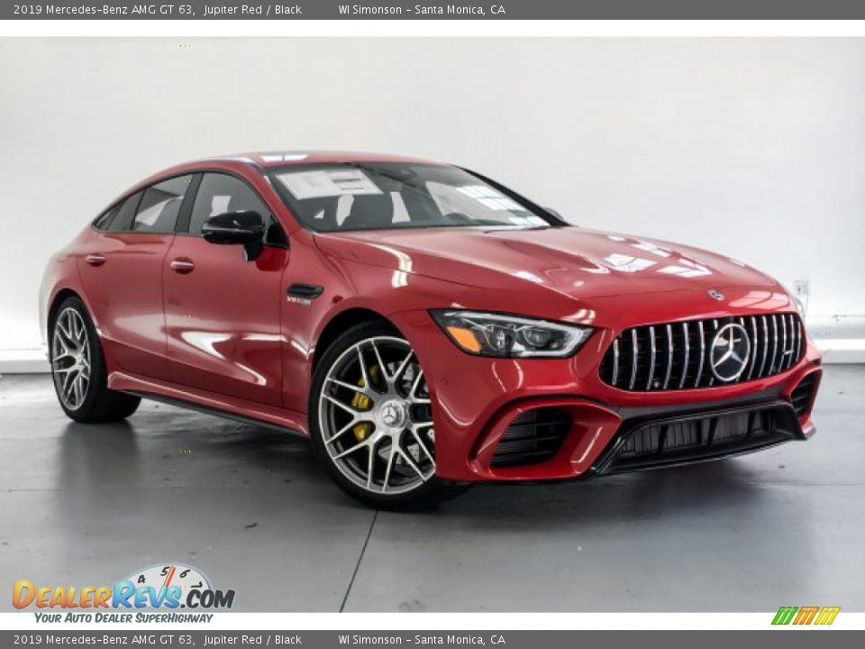 2019 Mercedes-Benz AMG GT 63 Jupiter Red / Black Photo #10
