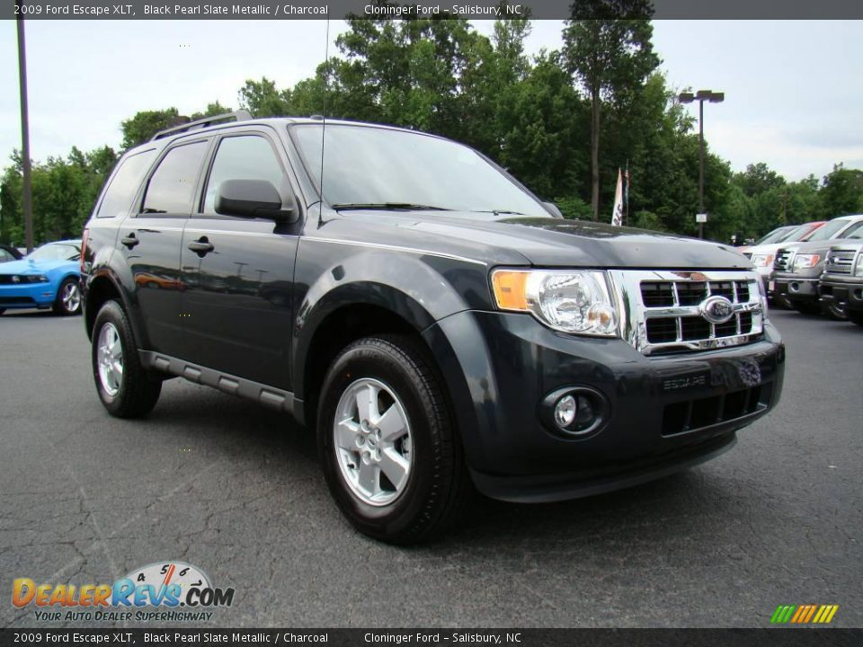 2009 Ford Escape XLT Black Pearl Slate Metallic / Charcoal ...