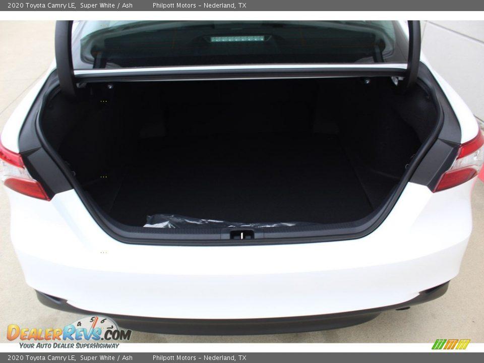2020 Toyota Camry LE Super White / Ash Photo #23