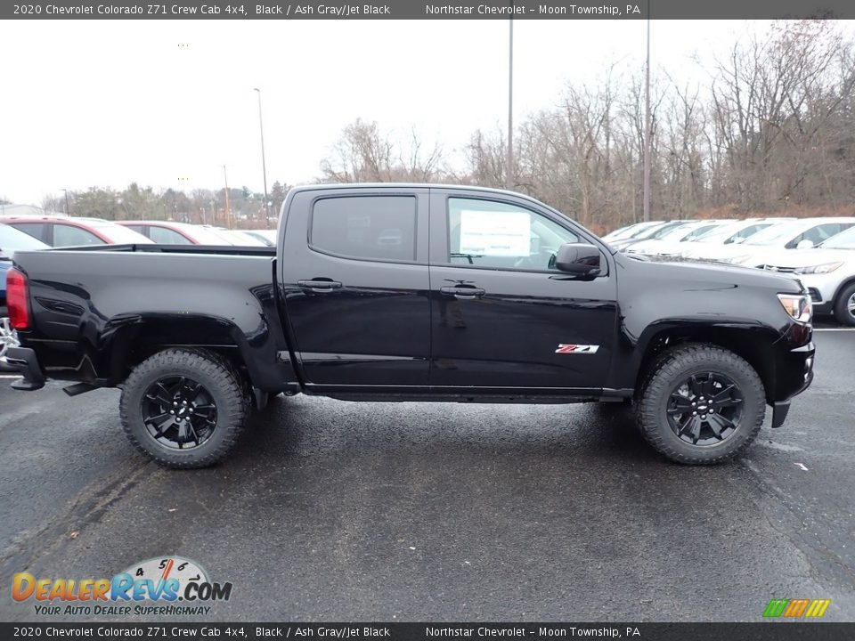 2020 Chevrolet Colorado Z71 Crew Cab 4x4 Black / Ash Gray/Jet Black Photo #6